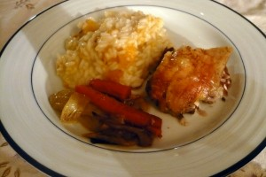 squash-risotto-orange-roasted-chicken1