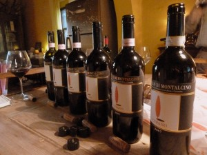 Vertical Tasting at Cupano